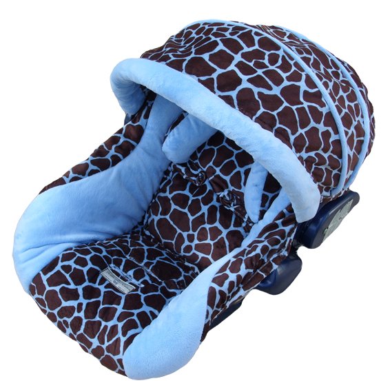 Information about Infant Car Seat Covers:Cute Blue Infant Seat ...