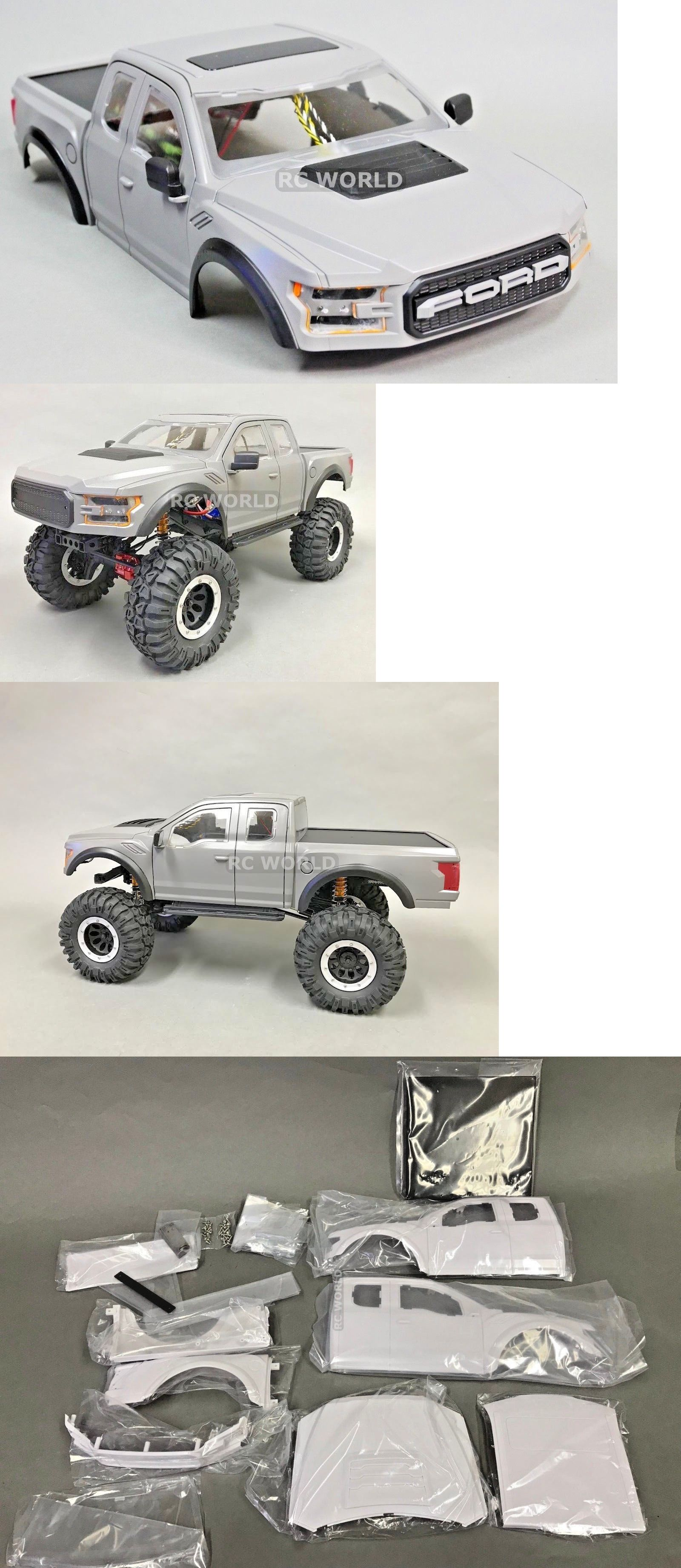 Ford Body Parts >> Body Parts And Interior 182203 For Traxxas Trx4 Truck Body Shell 1