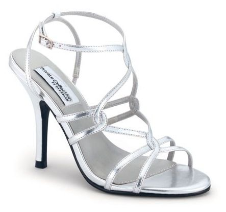 bridesmaids shoes  wedding shoes heels silver high heels