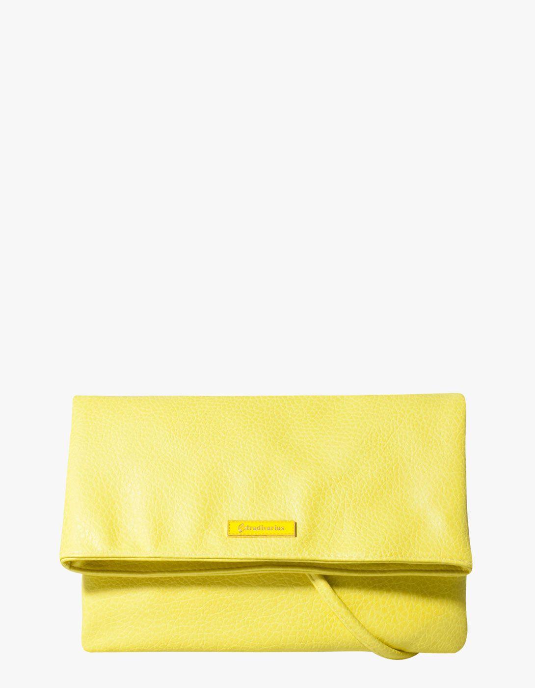 Neon handbag by Stradivarius