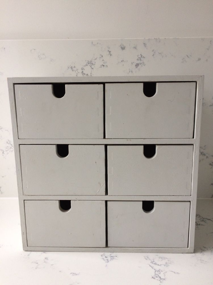 Ikea Moppe Wooden Storage Box Chest 6 Drawers Home