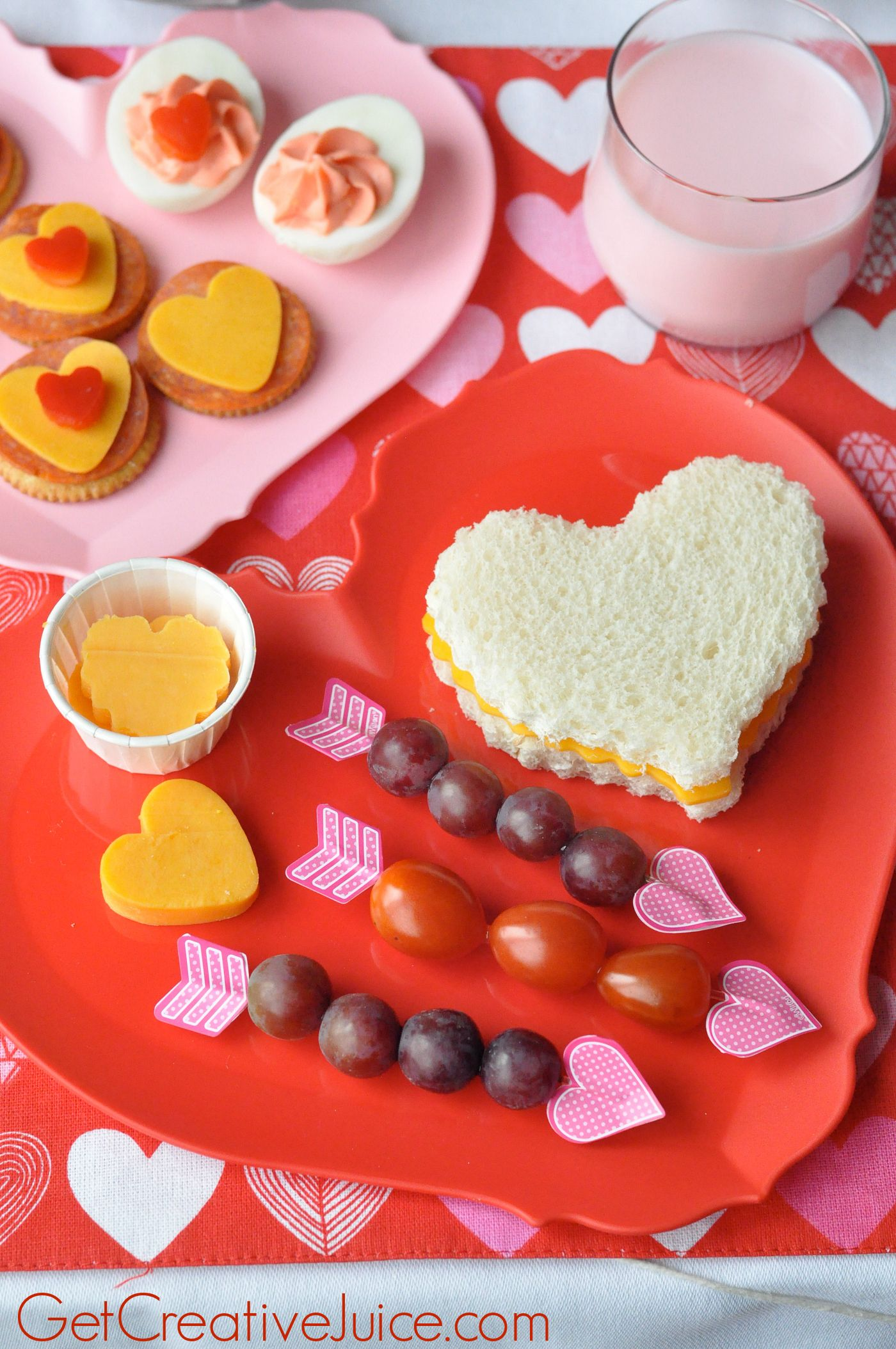 Valentine S Day Snack And Lunch Ideas Valentine S Day Pinterest