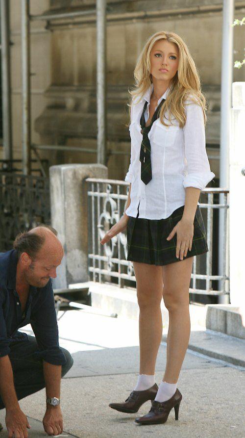 Blake lively school girl
