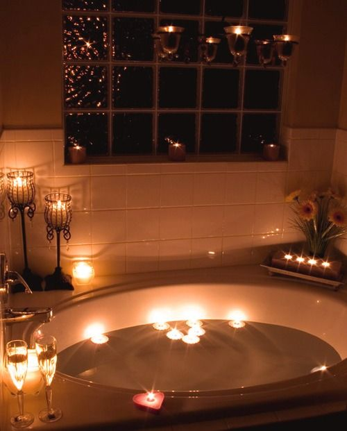 Attrayant Iu0027m Not Sure About The Candles In The Tub With Me But This Was