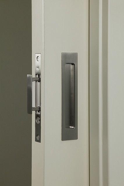 Pocket Door Latch Spaces With Bath Pocket Door Contemporary