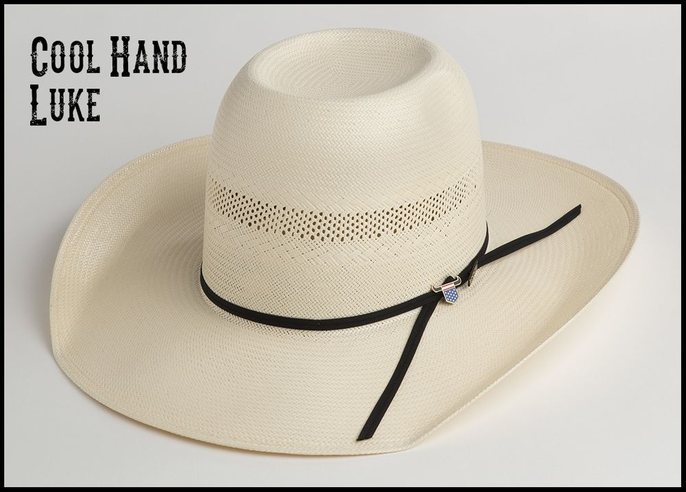 490e49b5f Cool Hand Luke, crease for cowboy hat crown. | Western clothing ...