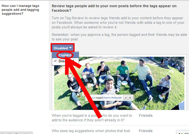 Untag Yourself on Facebook Tag people, When someone, Digital