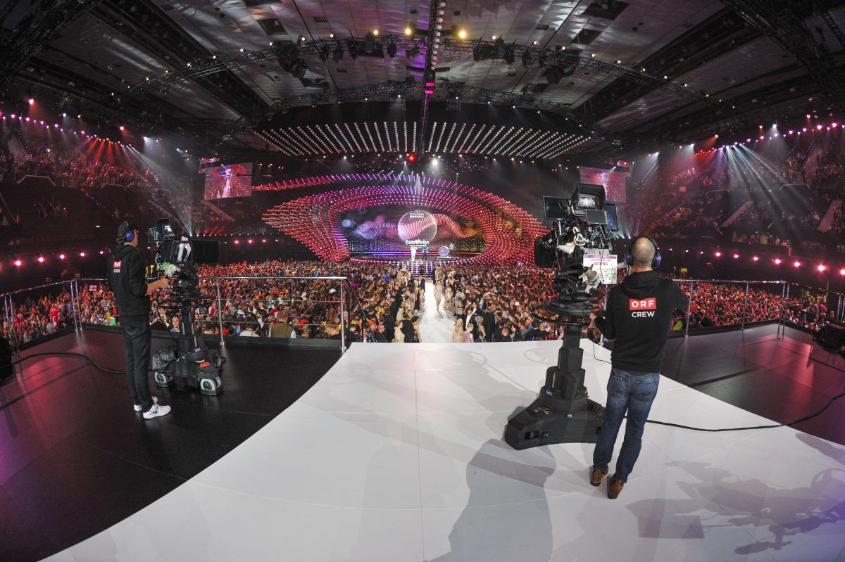 The Grand Final in the Wiener Stadthalle | Photos | Eurovision Song Contest