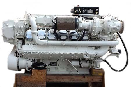 Man V 12 1224 Marine Diesel Engines For Sale With Images
