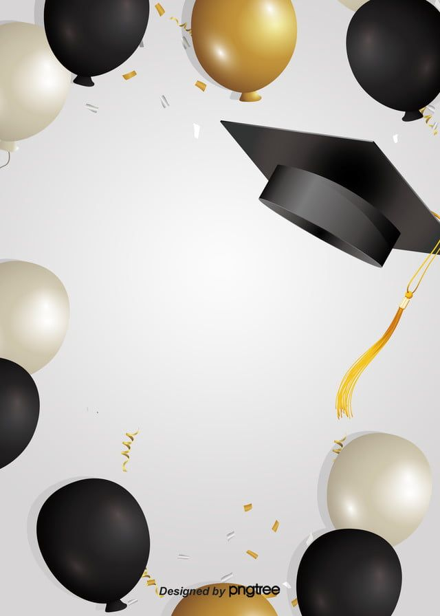 Photo of Minimalist Style Graduation Hat Background