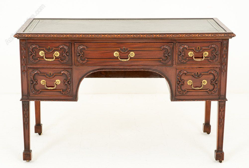 Superb Chippendale Style Writing Table Writing Table Rococo