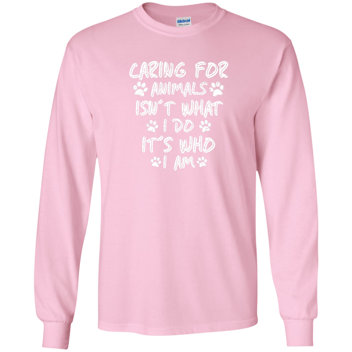 Caring For Animals - Long Sleeve T Shirt | Products | T ...