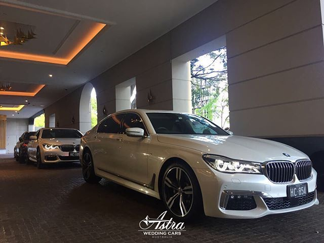 Arrive In Style With Our Pearl White 2017 BMW 7 Series M Sport Long Wheelbase Sedans The Perfect Combination Of Luxury And Comfort