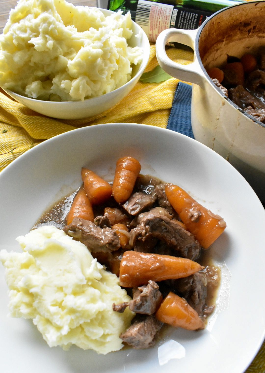 Beef and Red Wine Casserole | Recipe | Easy dinner recipes ...
