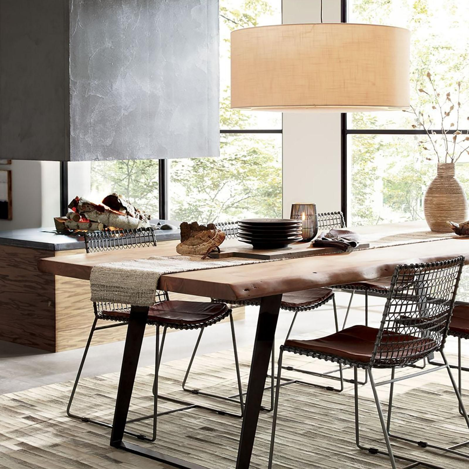 Tig Metal Dining Chair By Crate And Barrel Zola Metal Dining Chairs Dining Table Dining