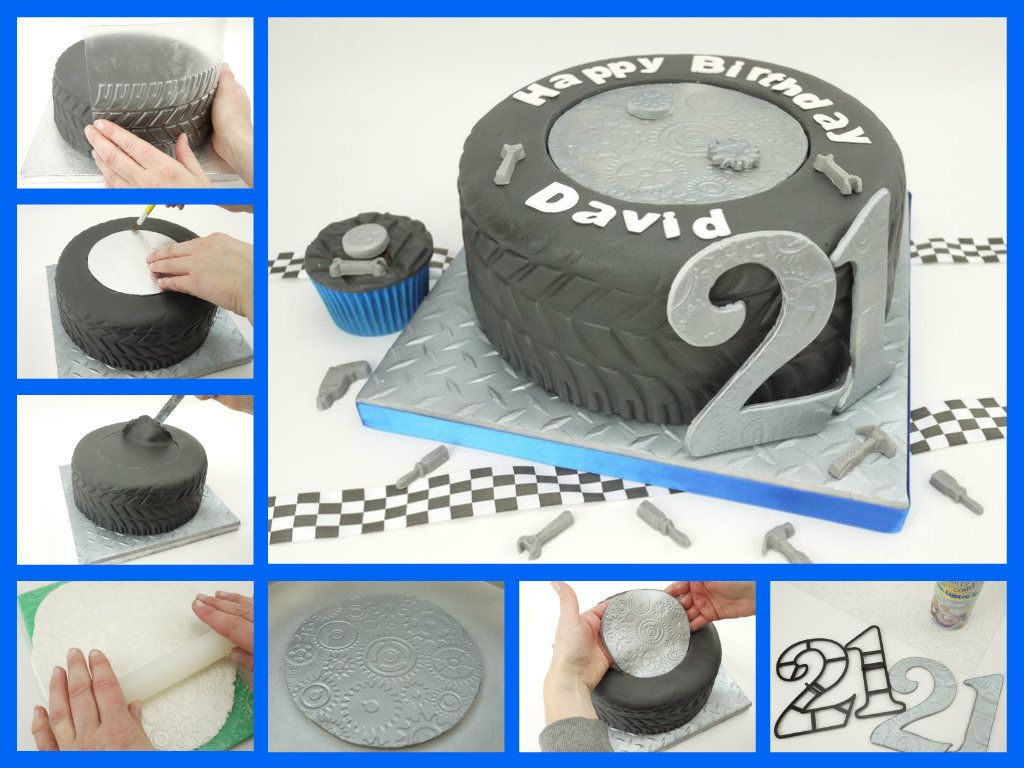 How To Make A Tyre Cake Party Cakes Cupcakes And