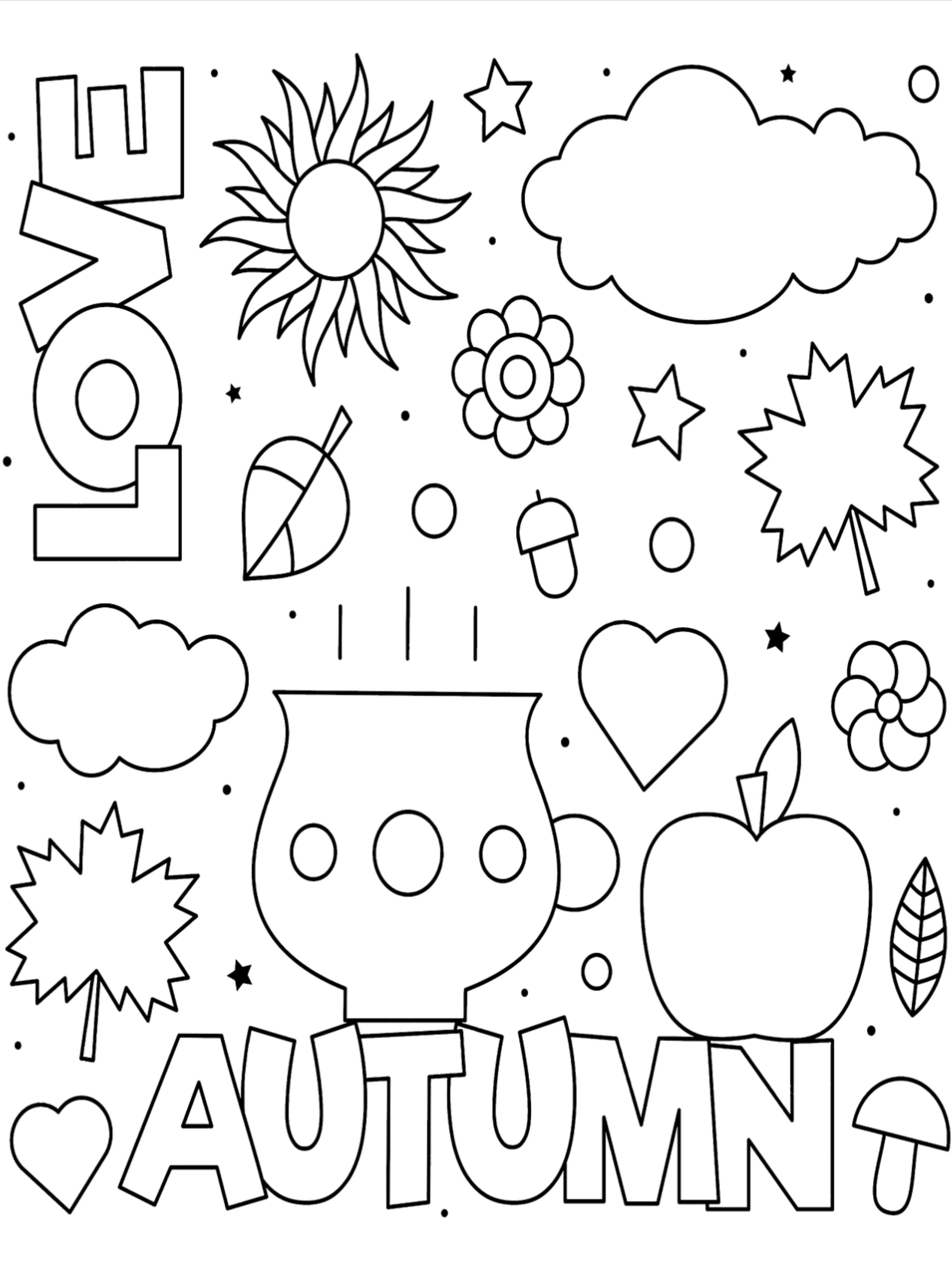 50 Fall Coloring Pages For Kids Fall Coloring Pages Coloring Pages Coloring Pages For Kids