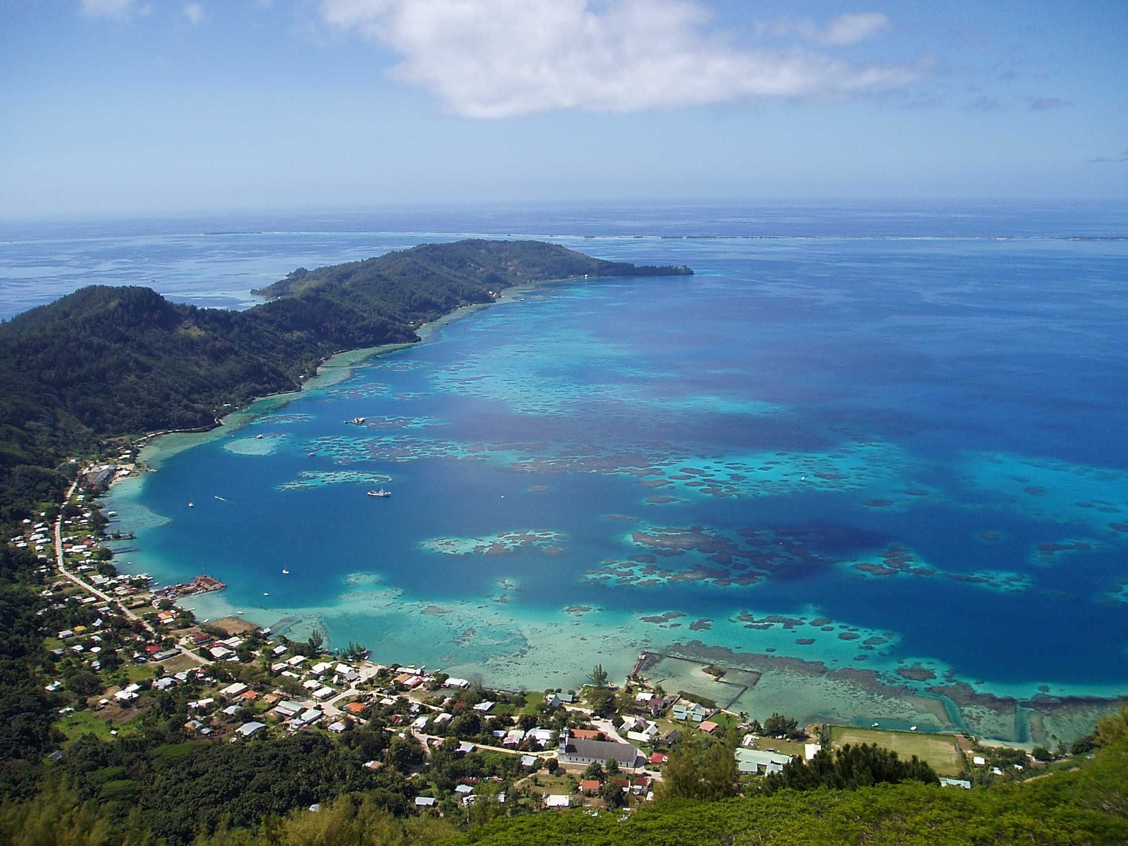 Rikitea Pitcairn Islands You Can Only Get There By Boat Also - Pitcairn island one beautiful places earth