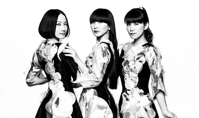 perfume3人白黒のかっこいい壁紙