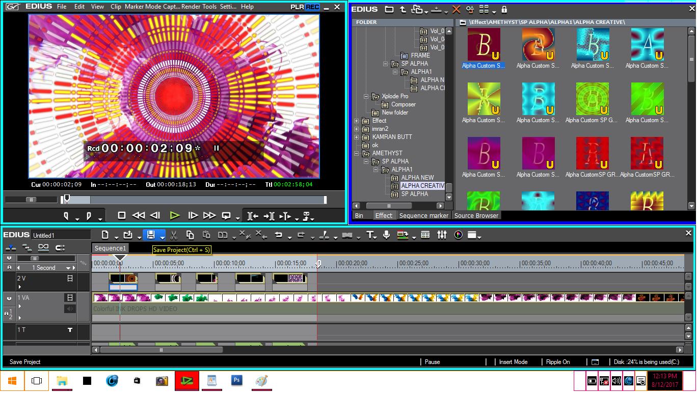 Video Rishdek Effects(edius, after effects, premier, finalcut pro