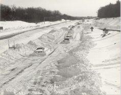 I 75 In Cincinnati During The Blizzard Of 1978 It Began On Jan 25