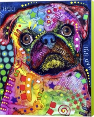 4a56a2dcbea7 Metaverse Pug 92309 By Dean Russo Canvas Art in 2019 | Products ...
