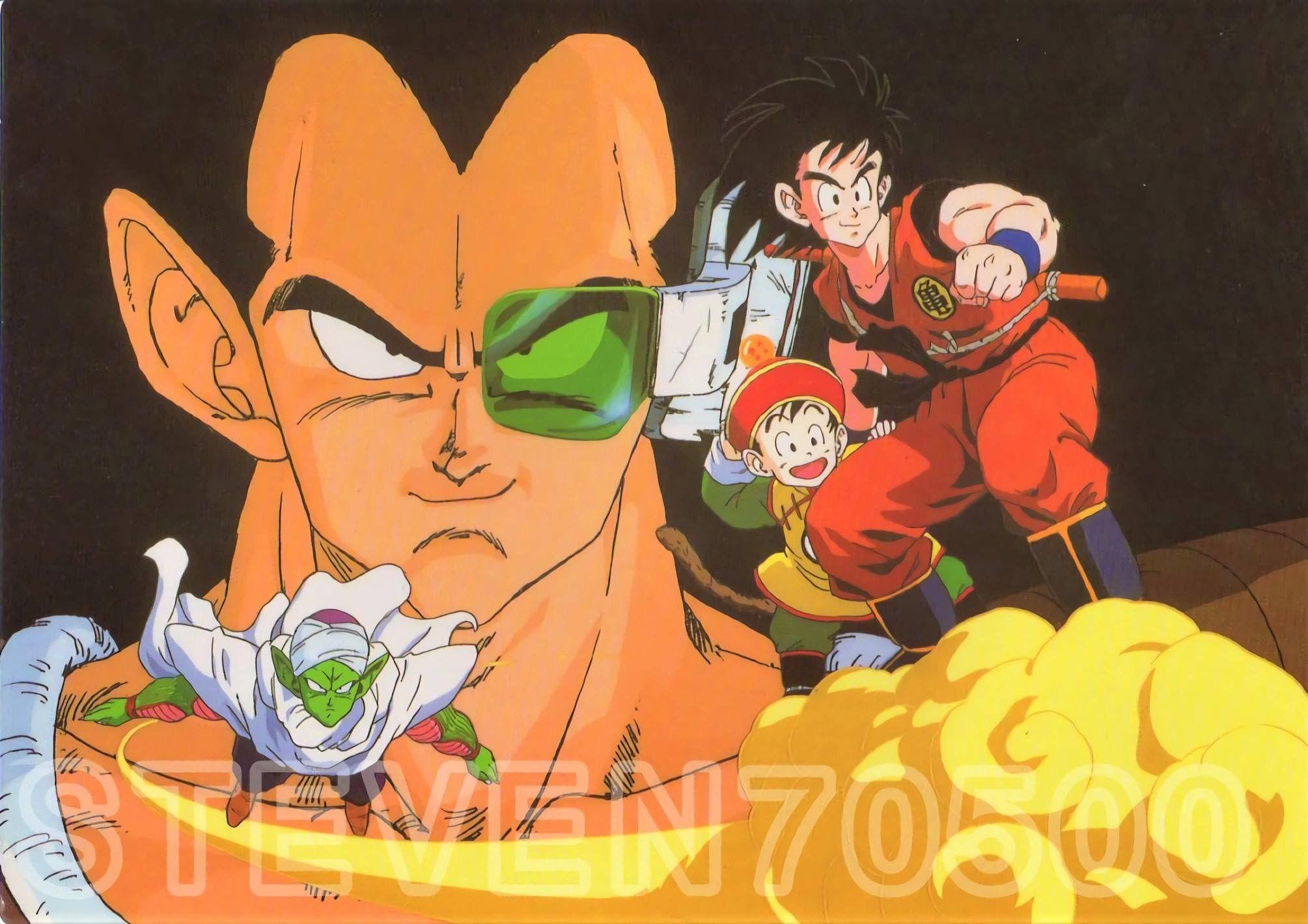 Raditz Dragon Ball Z Vintage 80s 90s Dragones Dragon Ball Dragon Ball Z
