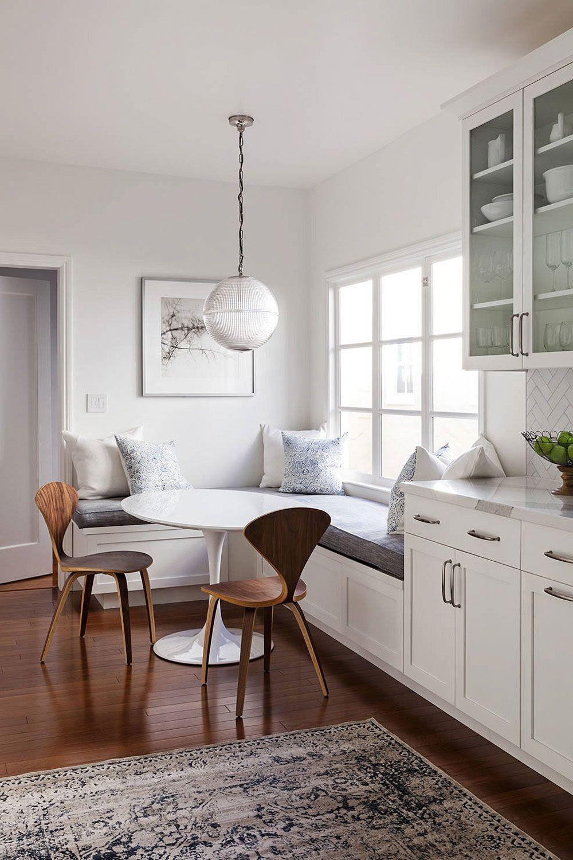 33+ Kitchen Breakfast Nook Ideas ( Create a HOMEY ATMOSPHERE )