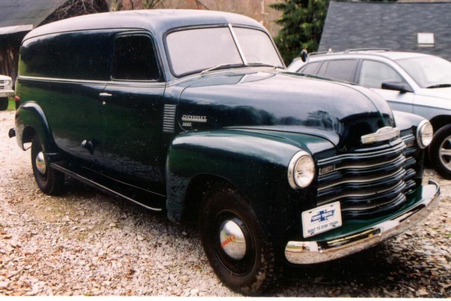 1950 Chevy Panel Truck Panel Truck Classic Chevy Trucks Classic Pickup Trucks
