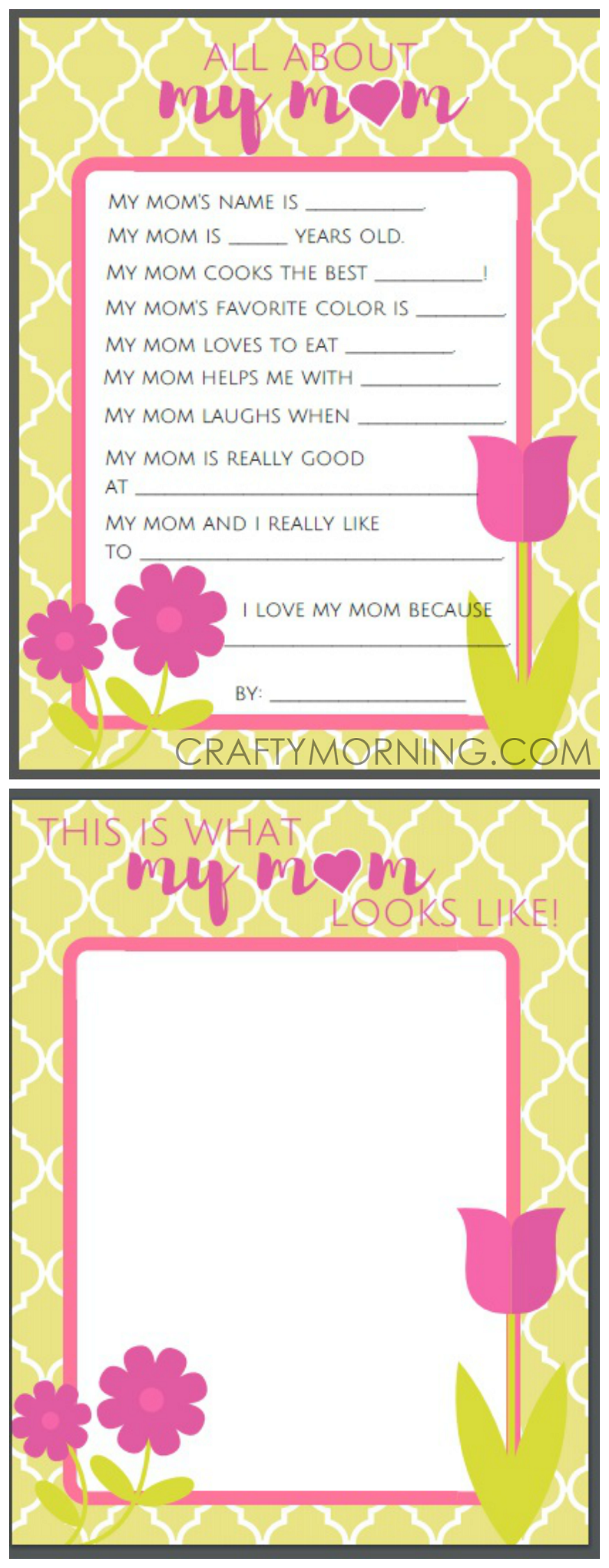 This is a graphic of Hilaire Free Printable Mothers Day Crafts