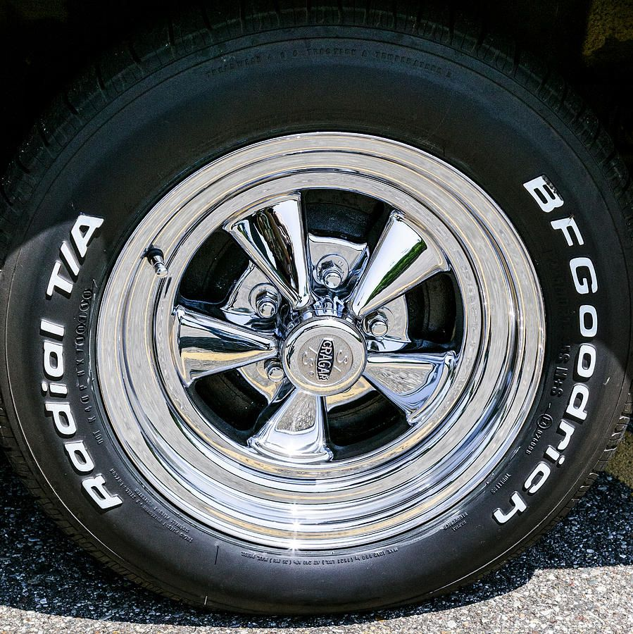 Muscle car wheels rims - photo#19