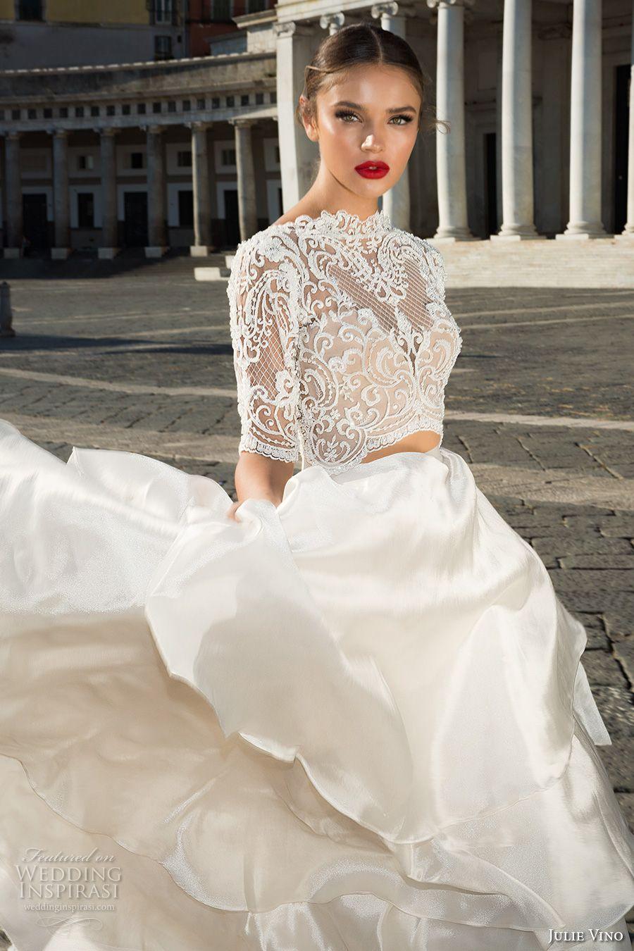 "Julie Vino Fall 2017 Wedding Dresses — ""Napoli"" Bridal"