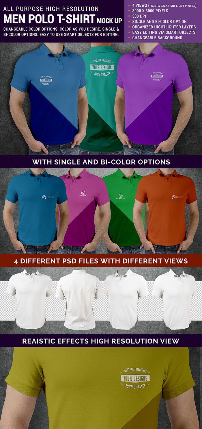 Download Polo T Shirt Mock Up Psd Polo T Shirts Shirt Template Shirt Mockup
