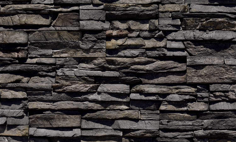 Gestapelte Steinplatte Kamin Methodepilates