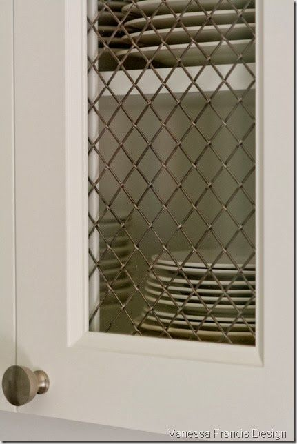 Pin On Wire Mesh Inserts For Cabinets