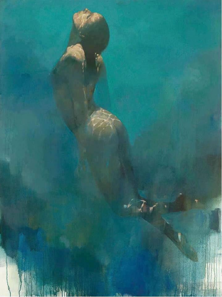 "Bill Bate, ""Towards the light"", 2008"