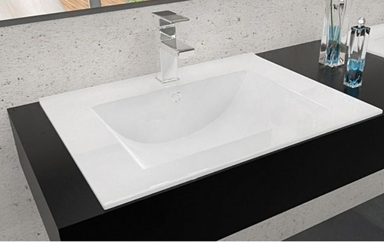 Wir bieten Ihnen hier einen #Keramikwaschbecken an #Waschbecken