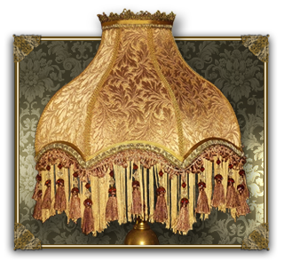 Rich Revival Lampshades Antique Period Style Lampshades