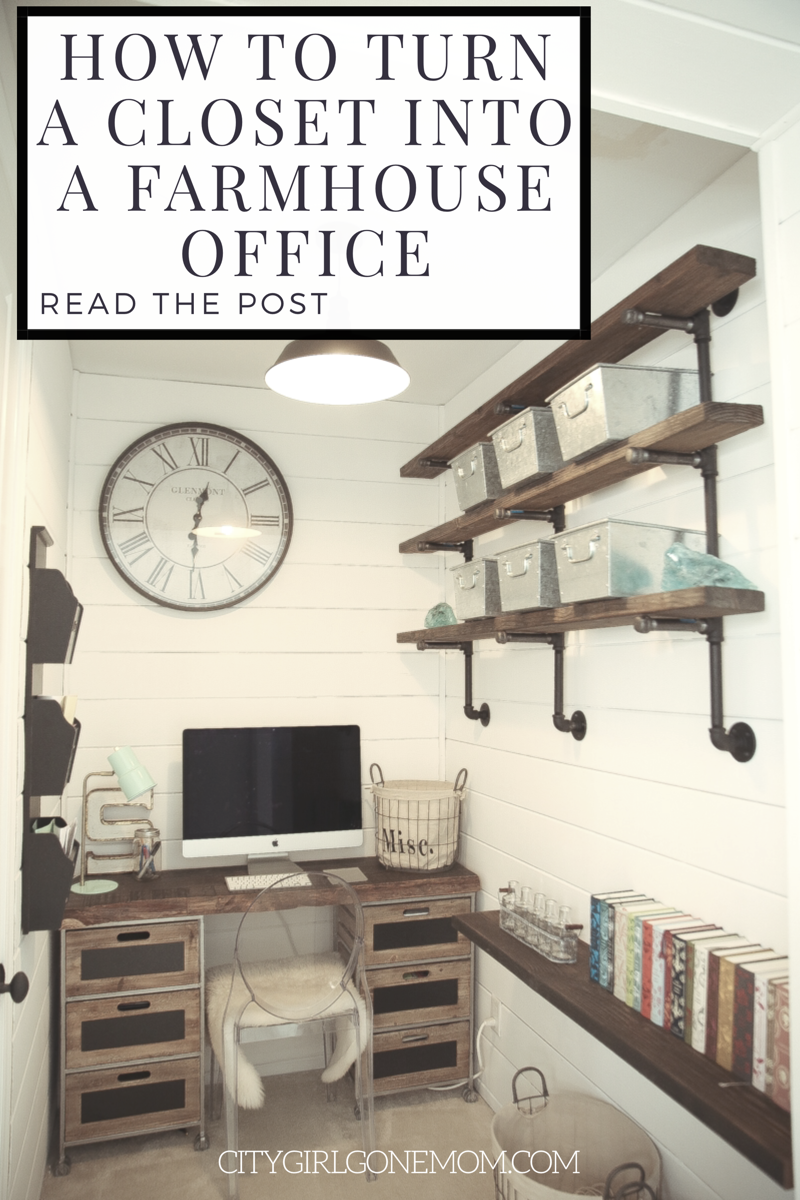 Farmhouse Style Home Office Renovation Home Office Decor Home