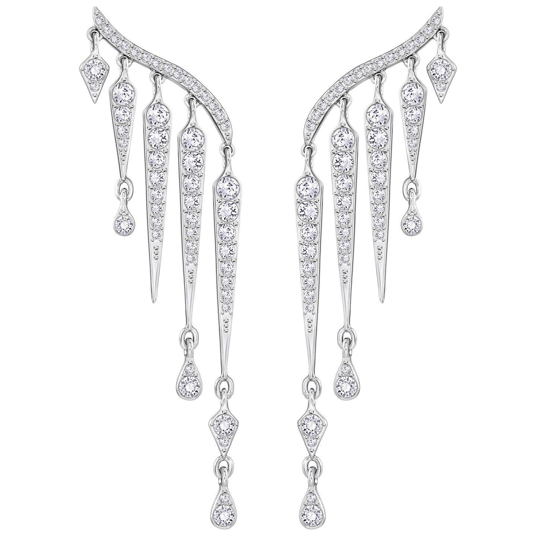 6cbf225a3d4c9 SWAROVSKI FLAME PIERCED EARRINGS | Swarovski Pierced Earrings
