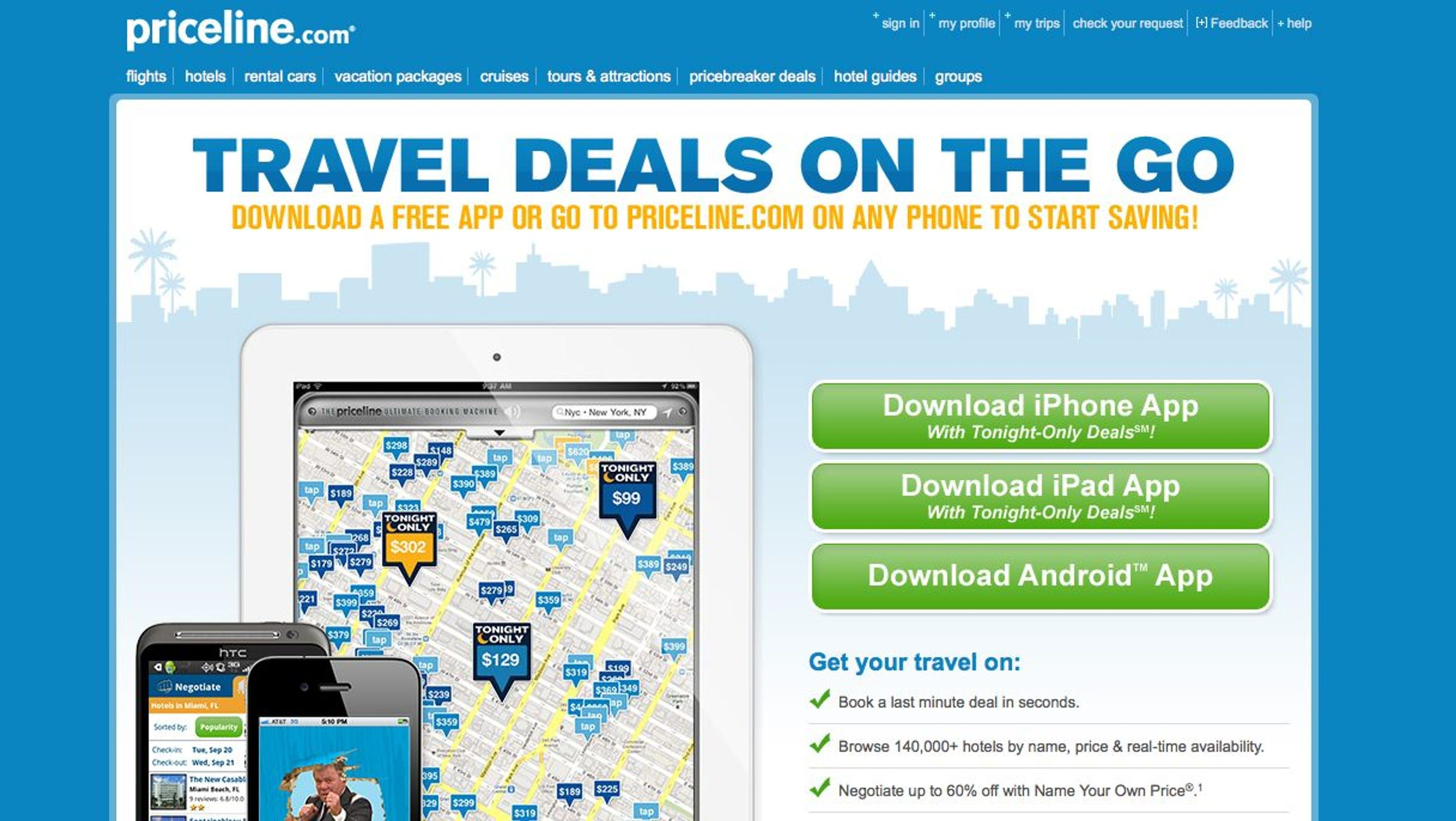 Priceline to buy OpenTable for 26B  Online travel Book
