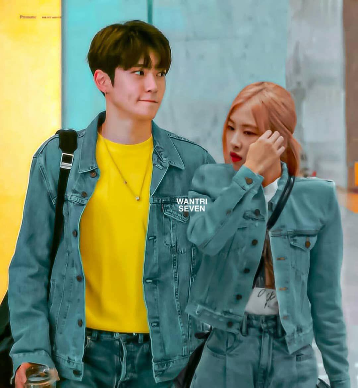 Jaehyun Rose Jaerose Nct Blackpink Nctpink Foto Teman Fotografi Pasangan Gambar Pasangan