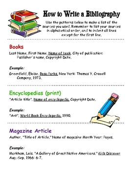 How To Write A Bibliography Works Cited Page Writing A Bibliography Cool Writing Academic Writing