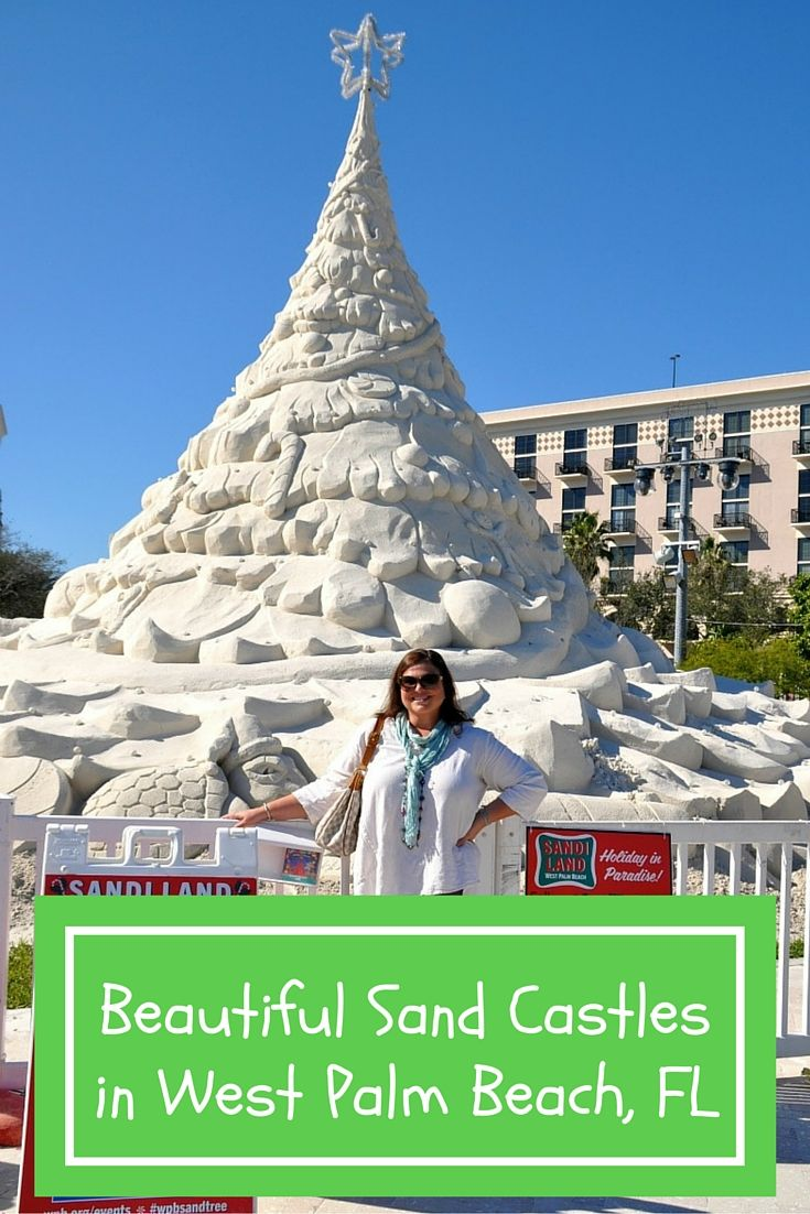 Florida S Ritziest Sand Castle Displays In West Palm Beach Family Beach Vacation West Palm Beach Florida Vacation Usa