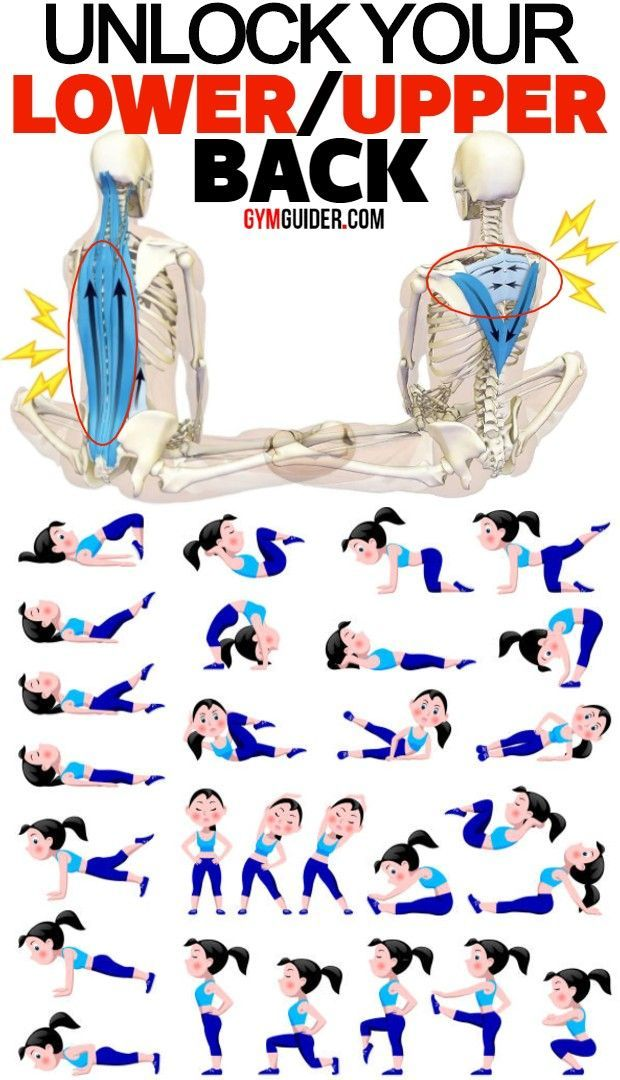 A balanced workout should include a combination of stretching and strengthening