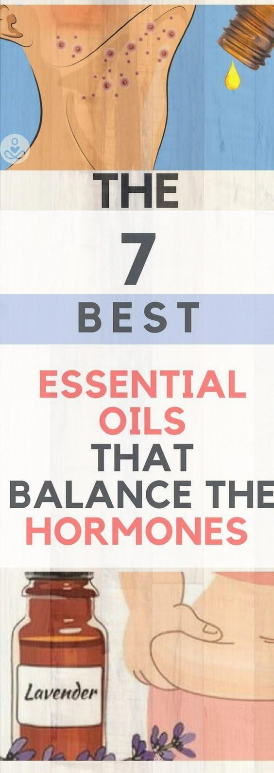 7 ESSENTIAL OILS THAT BALANCE HORMONES & HOW TO USE THEM � Today Health People#health #fitness #heal...