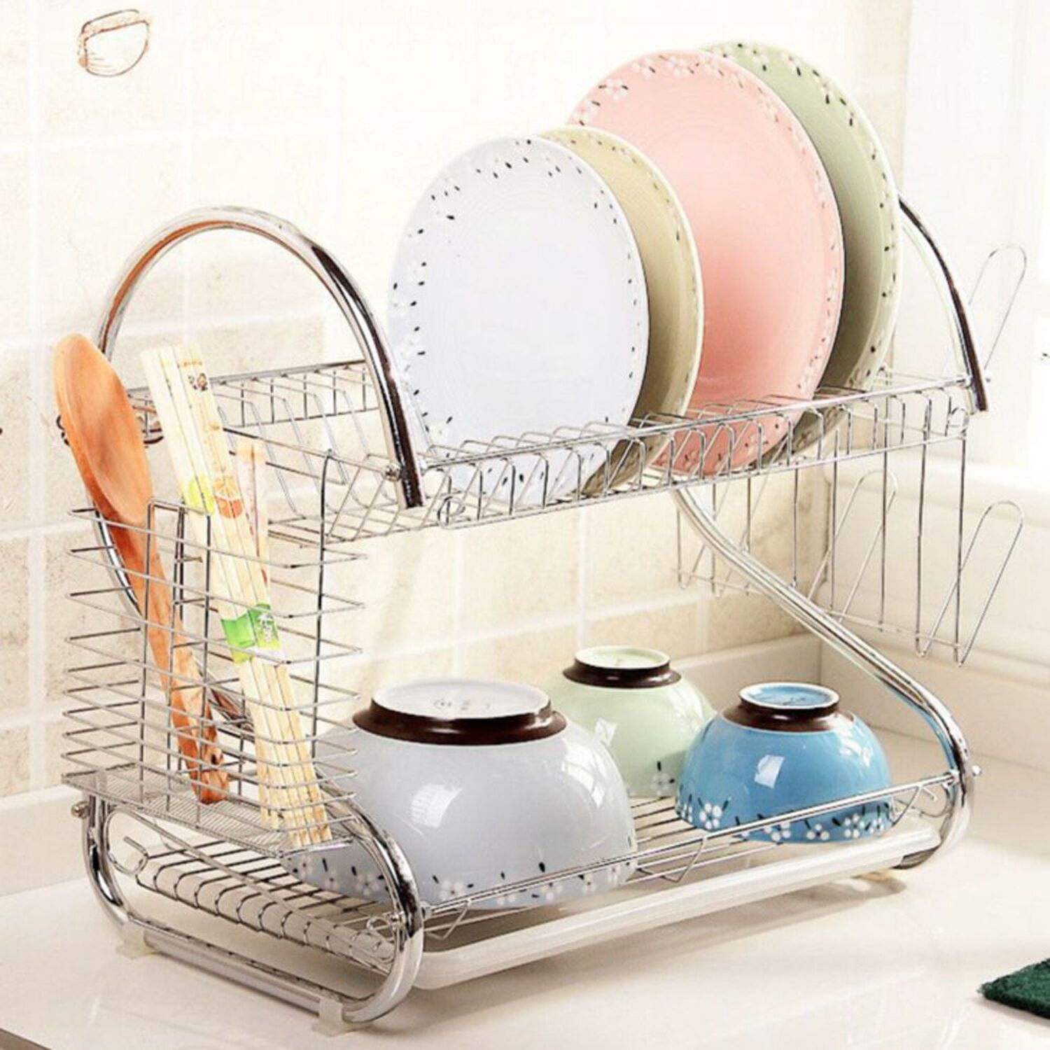 Free 2 Day Shipping Buy Goodworld Hot Sale 2 Tier Dish Drainer