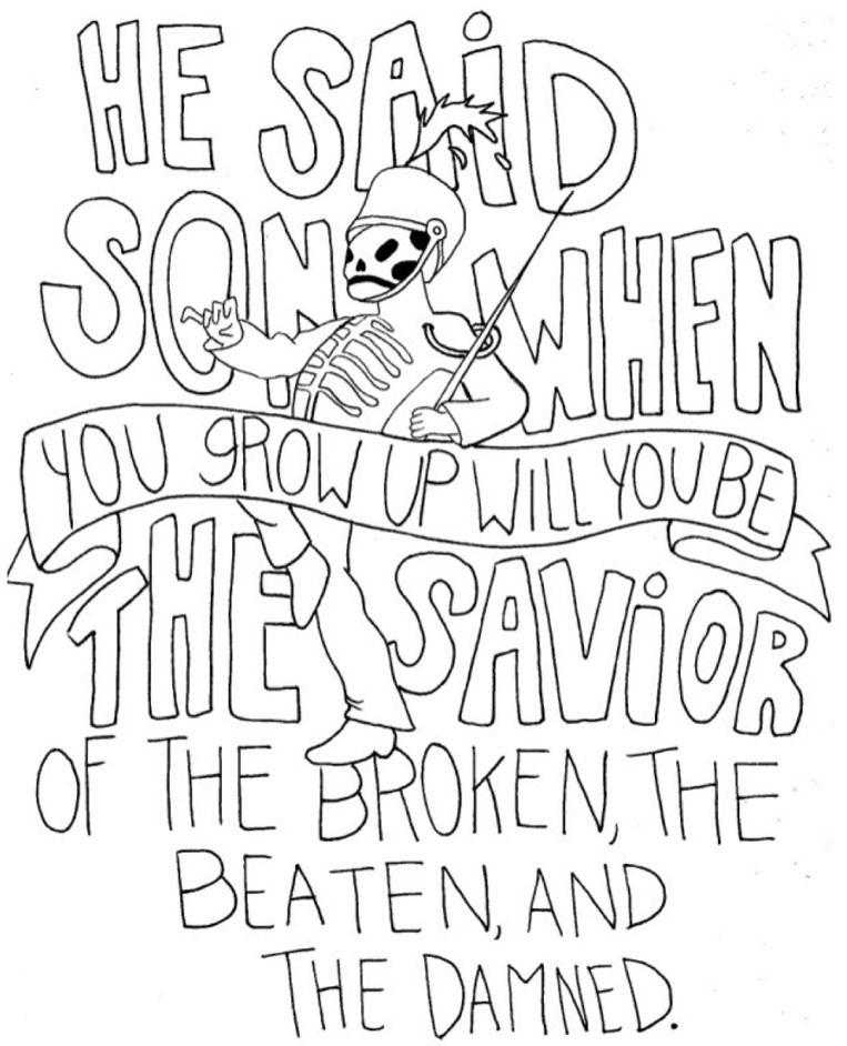 I Draw Band Lyrics My Chemical Romance Lyric Drawings Band Quotes