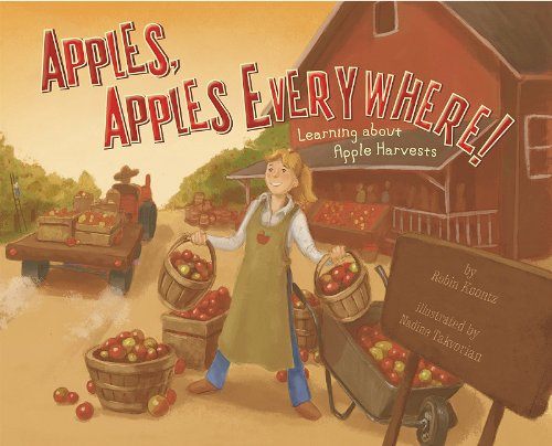 Great Books for Fall: Apples, Apples Everywhere!: Learning About Apple Harvests (Autumn)  Autumn is apple harvest time. Come along on a trip to the apple orchard. Find out how apples are picked and stored. Learn which apples are best for munching. But watch out for the apple worms!