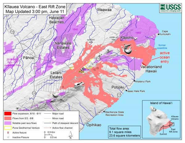 USGS Volcano Hazards Program HVO Kilauea Volcanoes